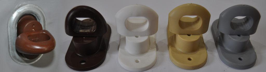 Скобы поворотно пластиковые